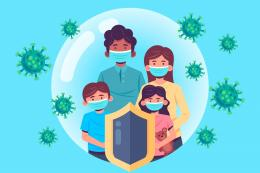 Family Protected From The Virus (Credit: Freepik.com)