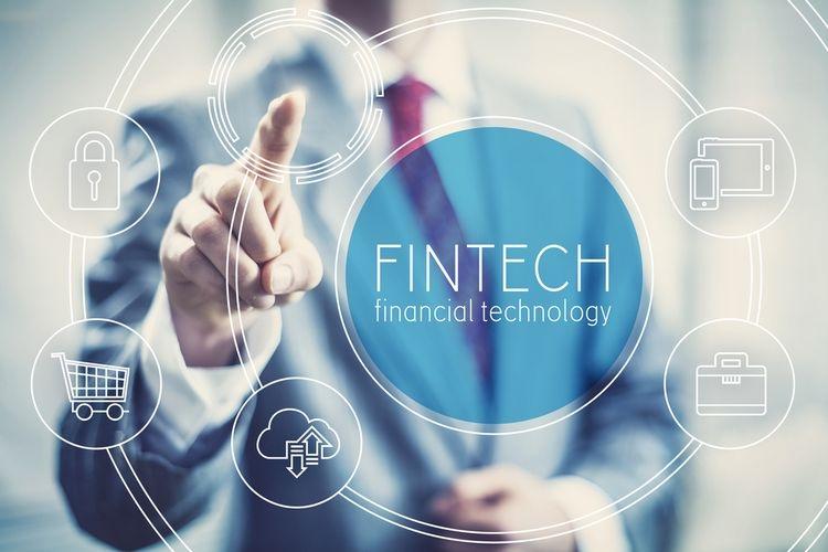 Ilustrasi financial technology  Sumber: Shutterstock via Kompas.com