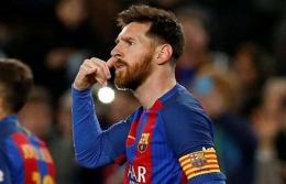 Lionel Messi bukan lagi pemain Barcelona. foto football-espana