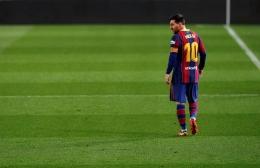 Adios Lionel Messi. Bola.Okezone.com