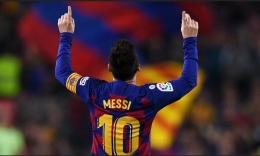 Jersey Messi No.10 adalah best seller. Sumber: www.image.beinsports.com