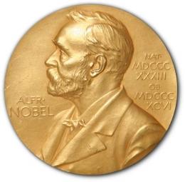 Hadiah Nobel. Sumber: https://id.wikipedia.org/wiki/Berkas:Nobel_Prize.png