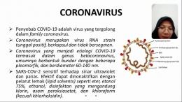 Penyuluhan Bahaya Covid - 19 (Dokpri)