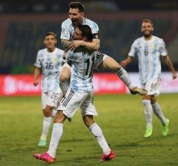 Mungkinkah Messi bergabung dengan Di Maria di PSG. Sumber: tangkapan layar IG@leomessi