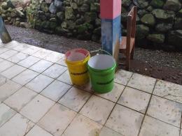 Tong sampah Tepilah dari Ember Bekas (Dokpri)