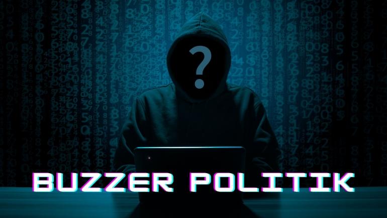 Buzzer-buzzer tak bermoral itu melempar narasi yang menyudutkan suku, agama, ras dan antar golongan tertentu (ilustrasi diolah pribadi)