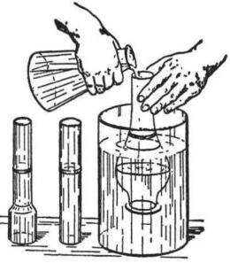 Tekanan cairan. Sumber Sumber: buku Physics for Entertainment, Book 1, hlm. 80.