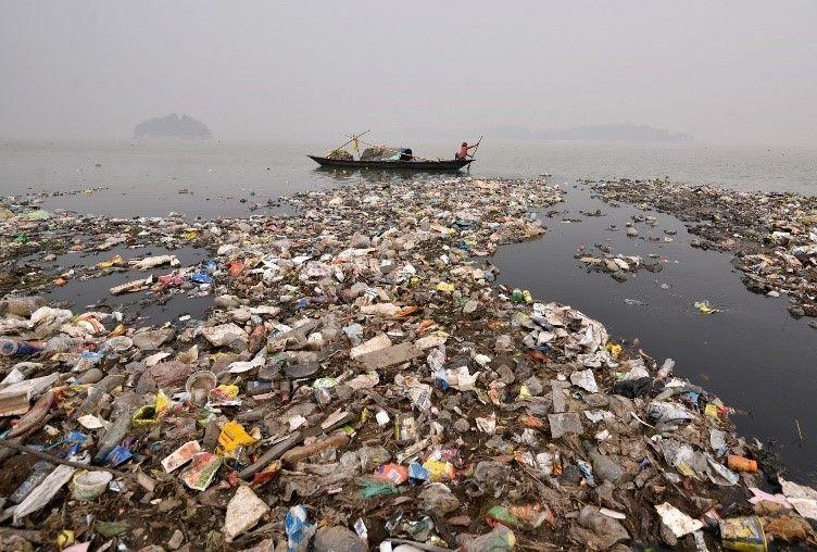 Sampah Laut yang di Dominasi Sampah Plastik