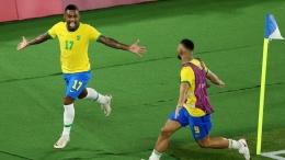 Malcom, sang pencetak gol kemenangan bagi Brasil di partai final: getty images