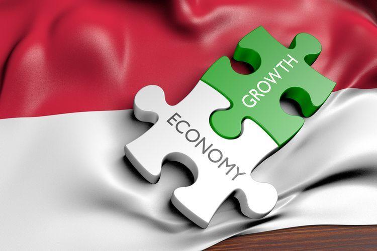 Pertumbuhan ekonomi Indonesia | Sumber:Shutterstock/David Carillet via money.kompas.com