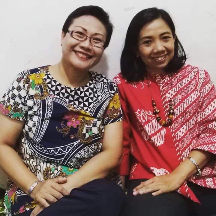 Dokpri Foto bersama mbak Anna terkasih (2019)
