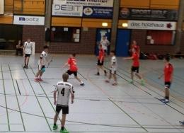 Kerja sama dalam permainan handball | Dokumentasi pribadi