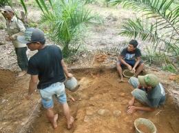 Sumber: Balai Arkeologi Sumatera Utara, 2013
