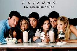 Chandler, Rachel, Ross, Monica, Joey, Phoebe karakter friend yang sangat ikonik, Sumber: Amazon