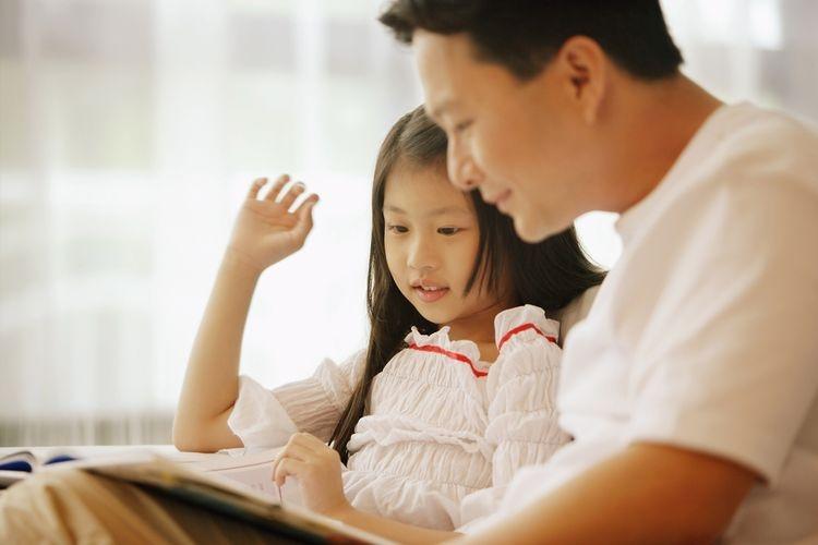 Ilustrasi ayah dan anak| Sumber: Shutterstock via Kompas.com