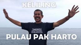 Wisata ke Pulau Pak Harto di Kepulauan Seribu, Jakarta. Destinasi penting dari mantan Presiden, yang berkuasa selama 32 tahun. Foto: isson khairul