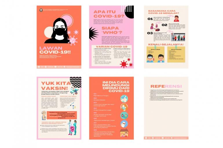 Informasi yang diberikan pada booklet/dokpri