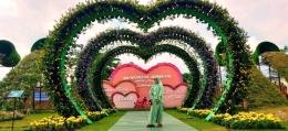 Salah satu sudut taman Batu Love Garden. Sumber: Dokpri