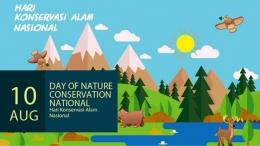 Hari Konservasi Alam Nasional (gambar: greeners.co)