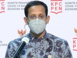 Mendikbud Ristek, Nadiem Anwar Makarim, Memiliki Inovasi Riset Menuju Indonesia Emas, (foto: pinusi.com)