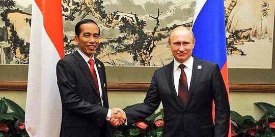 Presiden RI dan Presiden Rusia - Sumber: merdeka.com