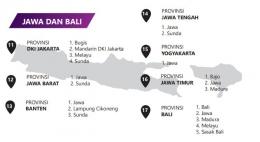 Peta bahasa di Jawa dan Bali - dokpri (tangkapan layar petabahasa.kemdikbud.go.id)