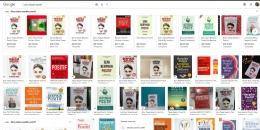 Gambar: Buku-buku tentang berpikir positif dari hasil pencarian di Google (M. Jojo Rahardjo)