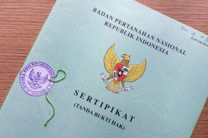 Ilustrasi sertifikat hak milik tanah/rumah. Sumber: grid.id