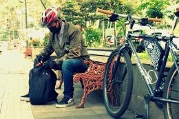 Pesepeda Mahasiswa, Foto : Simengkol