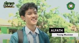 Alfath, Musisi Muda Delegasi UNESCO Summer Camp IMUN Virtual Conference 2021 di Maryland, Amerika Serikat (Dok. pribadi)