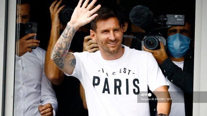 Lionel Messi (Sumber foto: AFP)