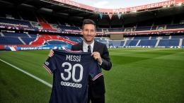 Messi di stadion Parc des Princes- Paris. Sumber: C.Gavelle / PSG