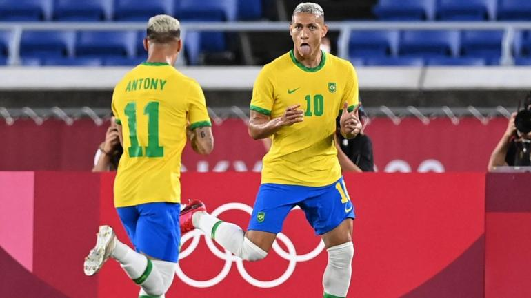 Antony & Richarlison, talenta muda timnas Brazil. (via eurosport.com)