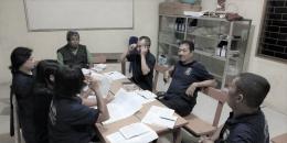Dokpri: mendamping peserta kelompok belajar (14/4/2019)