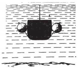 Sadko diangkat ke permukaan. Sumber: buku Physics for Entertainment, Book 2, hlm. 97.
