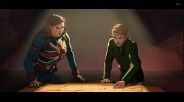 Ada yang berbeda saat Carter dan Steve menyusun rencana penyelamatan Bucky. Sumber : Disney+