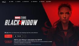 Black Widow yang rilis di Disney+   Source : kincir.com