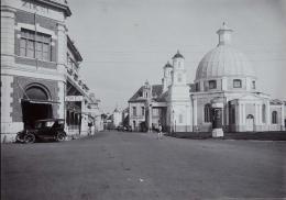 Toko Zikel di depan Gereja Blenduk, 1930