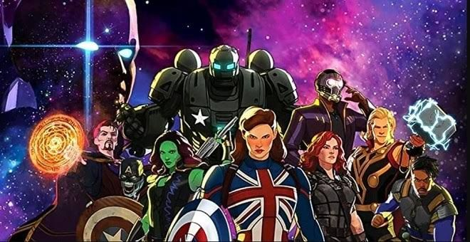 Serial Animasi Marvel What If...? (Cinemags)