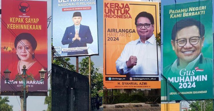 Serbuan Baliho politisi untuk mendongkrak popularitas (Sumber: detik.com via rm.id)