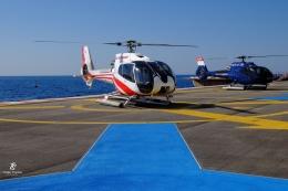 Layanan Helicopter dari Nice ke Monte Carlo untuk tamu VVIP. Sumber: dokumentasi pribadi