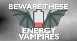 Ilustrasi energy vampire | sumber: addcrusher.com