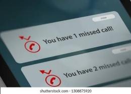 Panggilan Tak Terjawab Berulang Kali. Sumber Shutterstock