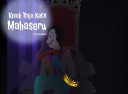 Ilustrasi seorang raja yang termenung sendiri. (Gambar: Olah Pribadi Via Splendid)