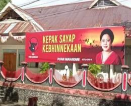 Baliho Puan Maharani (dok.tempo.co)