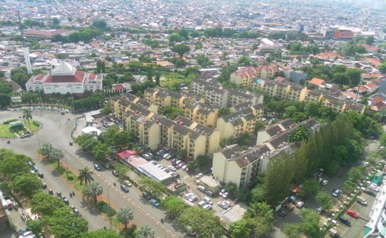 ket. foto: inilah foto unit apartement kami tinggal di kemayoran, jakarta/dokumentasi pribadi