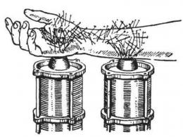 Gaya-gaya magnetik di lengan. Sumber: buku Physics for Entertainment, Book 2, hlm. 158.