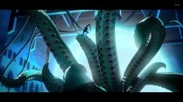 Captain Carter saat melawan makhluk yang diduga adalah Shuma-Gorath. Sumber : Disney+