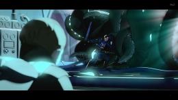 Captain Carter harus merelakan dirinya demi menyelamatkan dunia. Sumber : Disney+