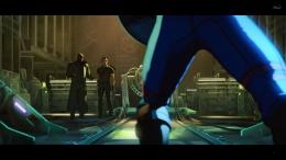 Captain Carter bertemu dengan Nick Fury setelah 70 tahun menghilang. Sumber : Disney+